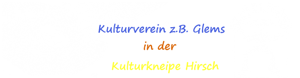 Kulturverein Glems Logo